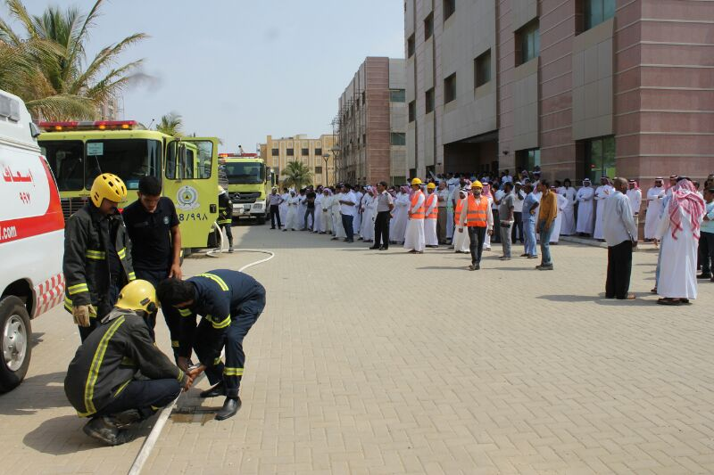 Arts - Rabigh & College of Sciences being piloted evacuation placebo for its employees